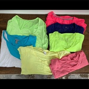 Workout Shirt Lot
